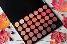 Paleta Morphe Brushes 35O2 to piękne, ciepłe, jesienne kolory. Swatche i recenzja na blogu :)