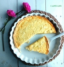 Tarta cebulowa SKŁADNIKI: ciasto: – 125  g masła – 1 i ¼ szklanki mąki – 3 ły...