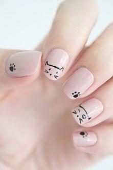 Te paznokcie są stworzone dla prawdziwych kociarzy!