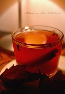 Grzaniec bez cukru i alkoholu - idealny na jesienne wieczory pod kocem!