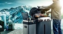 Grill do grillowania zimą - Quisson Barbeook doskonały grill gazowy