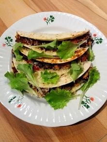 Przepis na meksykańskie, warzywne soft tacos, polecam! :)