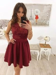 Piękne sukienki koronkowe t...