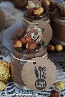Serniczki Ferrero Rocher z Nutellą