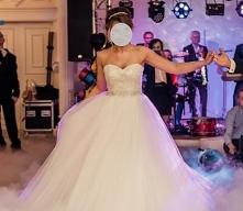 sprzedam suknie ślubną. link w komentarzu
