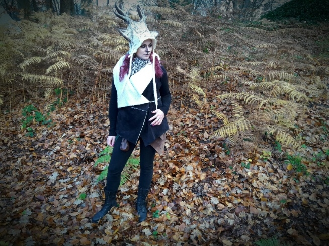 Deer cosplay