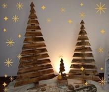 Choinki  Kolor: postarzane, ciemne drewno Wysokości: 150cm,130cm,100cm,70cm.