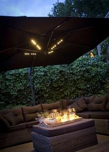 Lampa parasol lighting - doskonale oświetli każdy taras czy ogródek. Nowoczes...