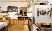 kuchnia z piecem kaflowym