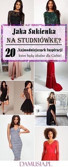Jaka Sukienka na Studniówkę? 20 Najmodniejszych Inspiracji, Które Będą Idealne dla Ciebie