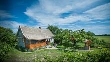 Kolorowa chata Hajnówka