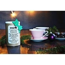 Herbata świąteczna, lub inna w stylowej kartonowej puszce