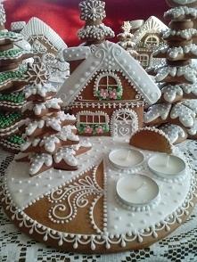 Świąteczna dekoracja na słodko