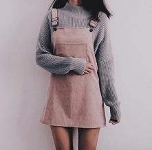 Jesienna stylizacja ze sztruksową sukienką - LINK W KOM!