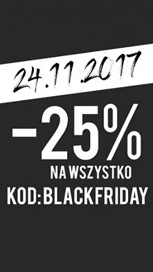 -25% NA WSZYSTKO z kodem: BLACKFRIDAY Sklep : swagshoponline.pl Należy go wpi...