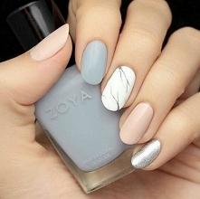 Nails pink Silver