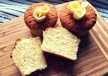 Muffinki maślane - wyjątkowo puszyste!