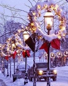 Magiczny klimat i duuuużo śniegu ♡