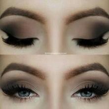 olśniewający makijaż oczu