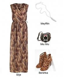 Śliczna Sukienka Maxi <3