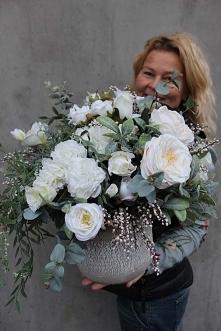 kompozycje ze sztucznych kwiatów - pracownia tendom