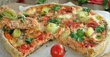 Tarta pomidorowo łososiowa