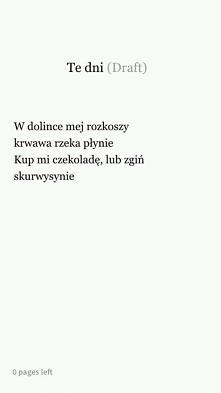 Poezja ... :p