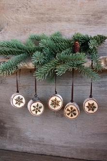 . . . wypatrzone w necie - pomysł na ozdoby świąteczne