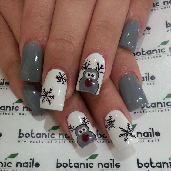 Reniferki nails