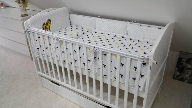 Modish Ochraniacze do łóżeczka. Wszystko wykonane własnoręcznie. Częśc HF42