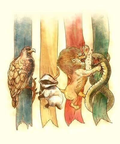Domy Hogwartu