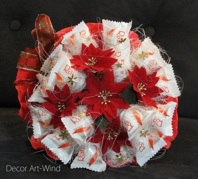 świąteczny bukiet dostępny na zamówienie