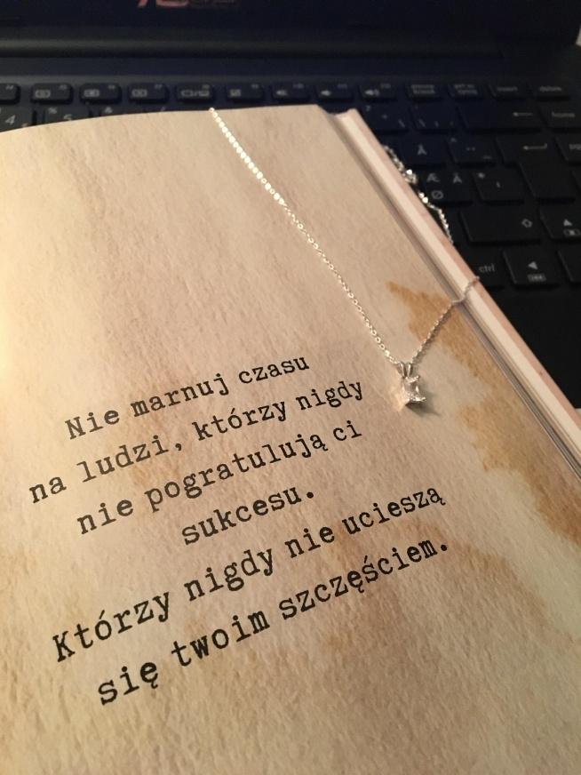 """Trochę motywacjii jest zawsze dobrym pomysłem... W zimowy okres łatwiej """"złapać doła"""", ale to nic jeśli ma się odpowiednie podejście i słowa które dają kopa ;) Wieczorami lubie się położyć pod kocykiem, poczytać motywujący tekst i zwyczajnie zagubić się w myślach."""