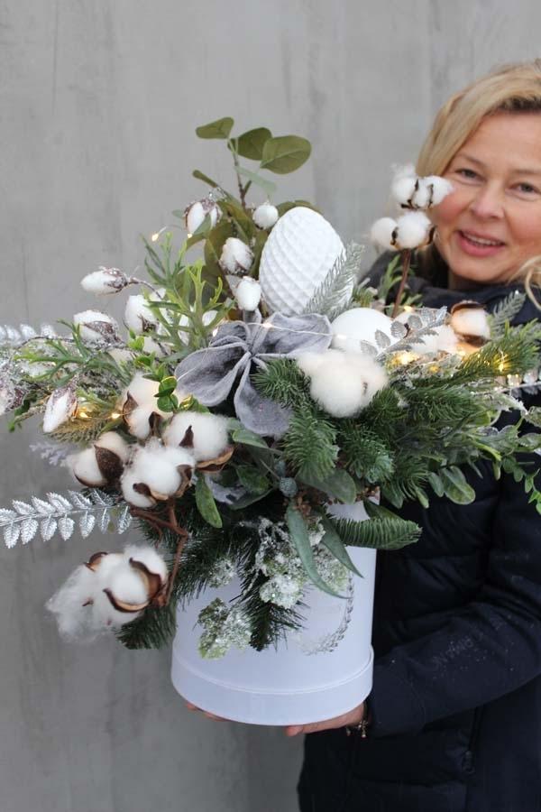 zimowe boxy ze świątecznymi dodatkami z pracowni tenDOM