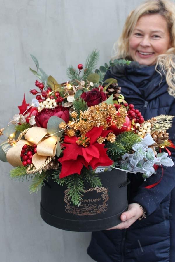 box zimowy / świąteczny z pracowni tendom