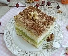 Ciasto jabłkowo-kajmakowe