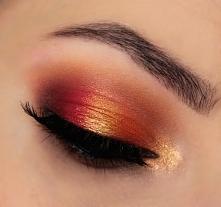 Makijaż paletą Morphe Brushes 35os2. Więcej zdjęć na blogu.