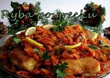 Ryba po grecku, przepis