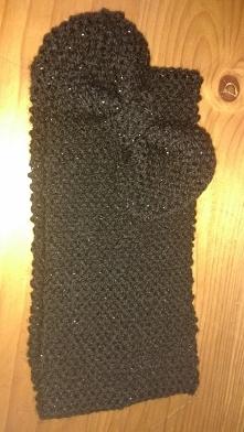Moja opaska zrobiona na drutach :)
