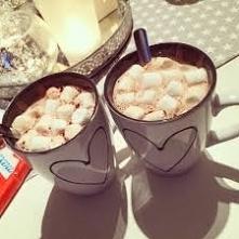 Mmmm cieplutkie kakao:) Zim...