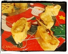 Ślimaki naleśnikowe z kremem bananowym - Banana Pancake Rolls Recipe - Girell...
