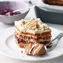 """Ciasto """"Chałwowe""""..."""