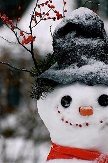 Budowanie bałwana to świetna zabawa, a jeśli ma się na tyle szczęścia i śnieg na podwórku to pojawienie się tego pana jest konieczne.
