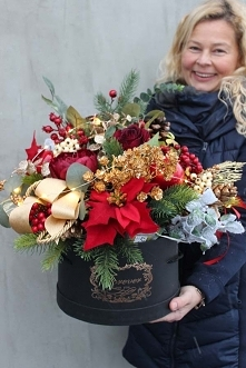 box zimowy / świąteczny z p...