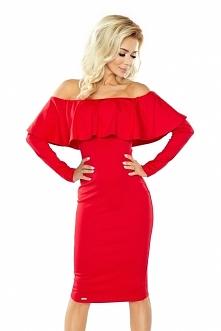 Czerwona sukienka hiszpanka...