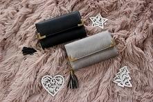 Stylowy portfel to idealny prezent pod choinkę :)  Portfel z frędzlami 35,-