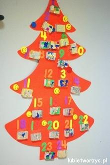 Choinka - kalendarz adwento...