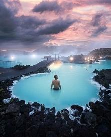 Błękitna laguna - Islandia