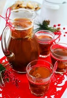 Kompot wigilijny z suszu owocowego z nutą herbaty Earl Grey