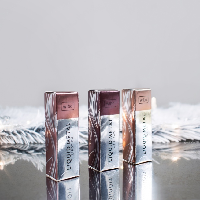 Więcej po kliknięciu w zszywkę! :) Metaliczne pomadki Wibo   Wibo Liquid Metal Lipstick   Gentle Princess, Powerfull Women, Burgundy Wine